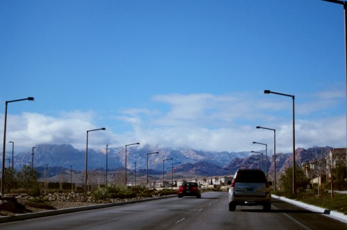 Vistas neighborhood in Vegas - my favorite so far. I want to live here.