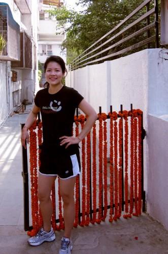 After a nice jog