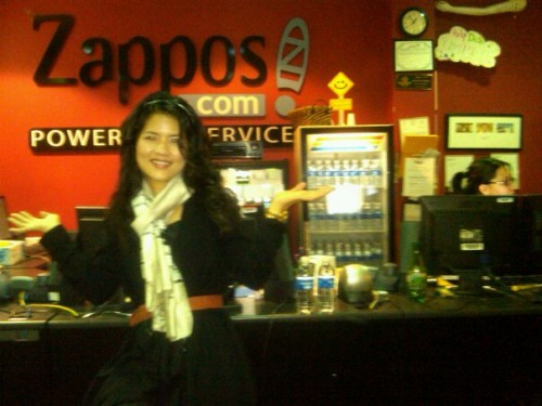 Hi from Zappos HQ