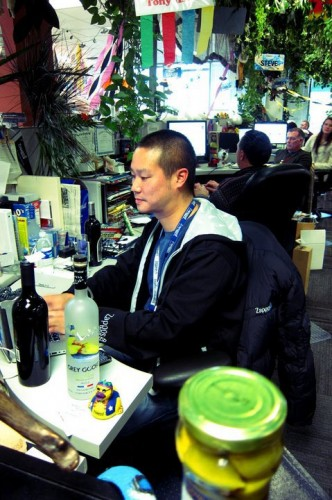 CEO, Tony Hsieh