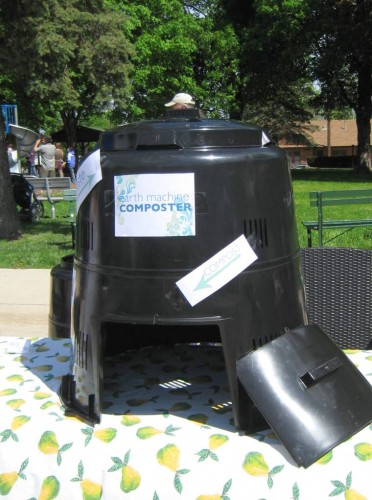 City approved earth machine composter - Ideal Energy
