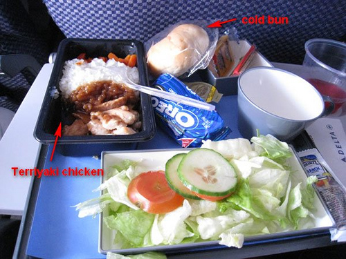 Flight food