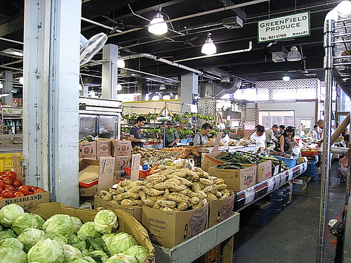 Fresh produce, Honolulu Chinatown
