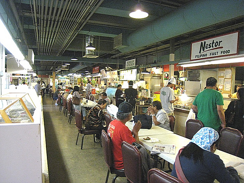 Maunakea Market Food Court, Honolulu Chinatown