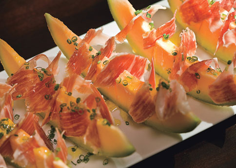 Cantalope with Jamon