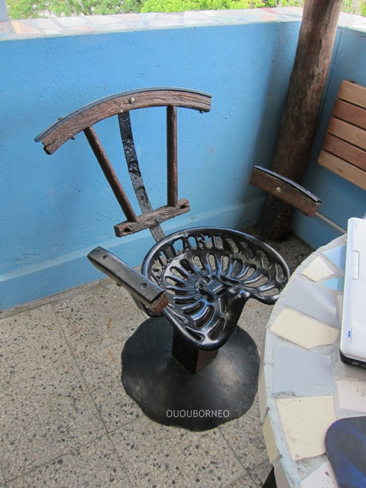 I Love Vintage Furniture This Chair Is Made From The Seat Of An Old Tractor  Designed December 2017 Ououborneo. Tractor Seat Stool ...